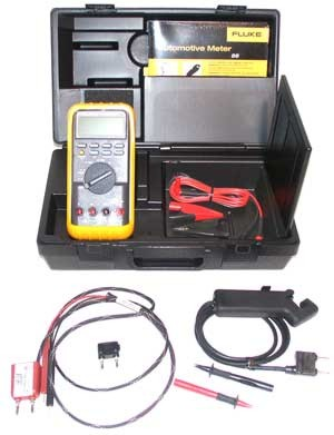 Fluke 88 Meter Kit with DVA Adapter