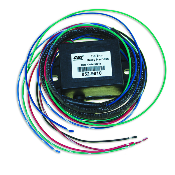 Wire Harness Tilt Trim With Relays for Johnson Evinrude 852-9810 CDI
