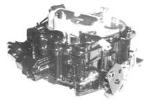 Carburetor, 4 Barrel, Mercruiser 454 V8 with Spring Choke