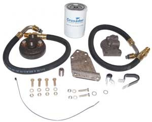 Oil Filter Kit Remote Crusader GM Small Block V8