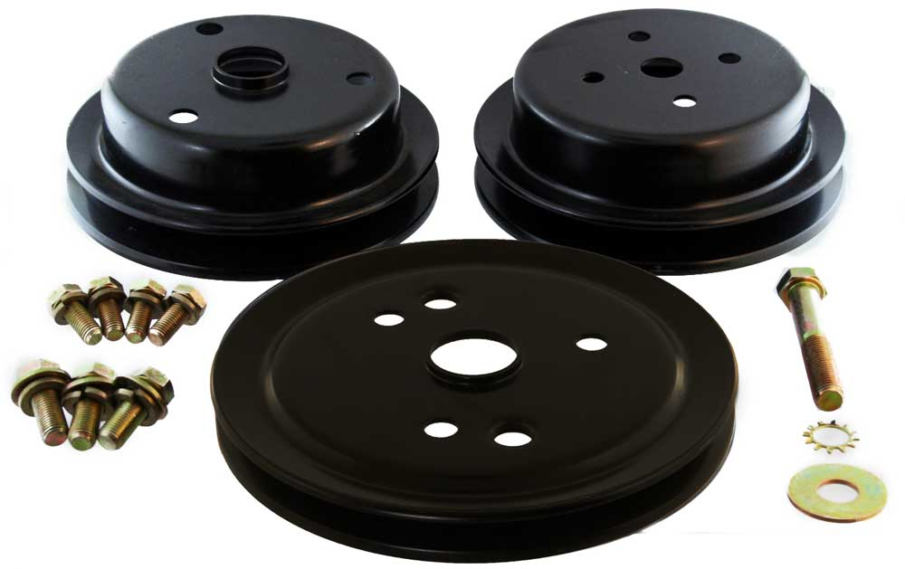 Pulley Kit for Crusader 220 270 Crankshaft and Raw Water Pump 22651