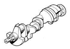 Crankshaft, GM 305, Crusader