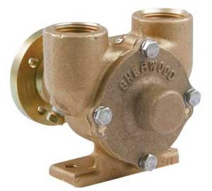 Water Raw Pump for Crusader Marine Engines Sherwood E35 97179