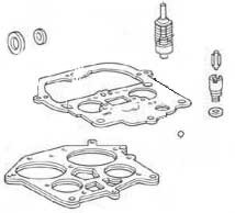 Carburetor Overhaul Kit, Crusader