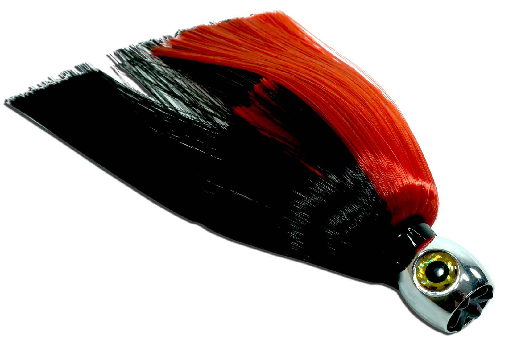 JET HEAD TROLLING LURE 7.5 INCH RED/BLACK