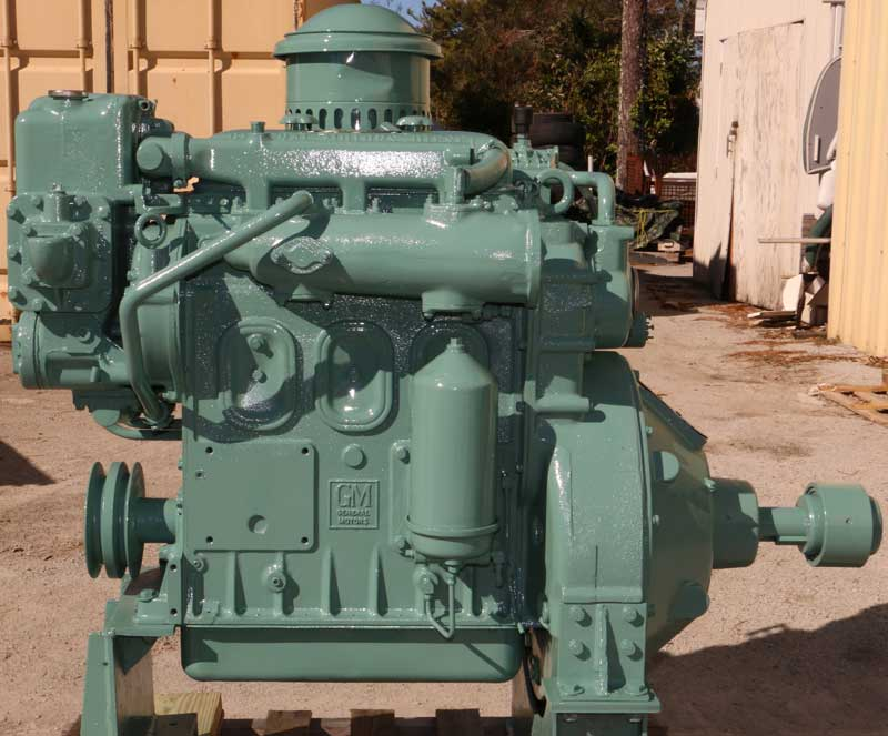 Detroit Diesel 371 Marine Power Unit with Direct Drive PTO