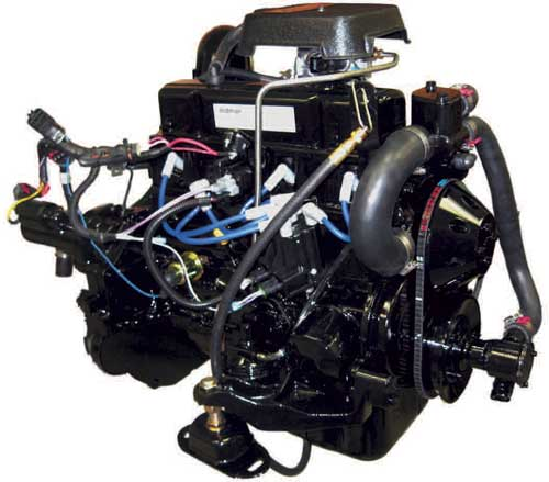 3.0L GM Carbureted Marine Engine Inboard Replacement