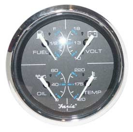 FAR33751 combination gauges Faria Fuel Gauge Wiring Diagram at soozxer.org