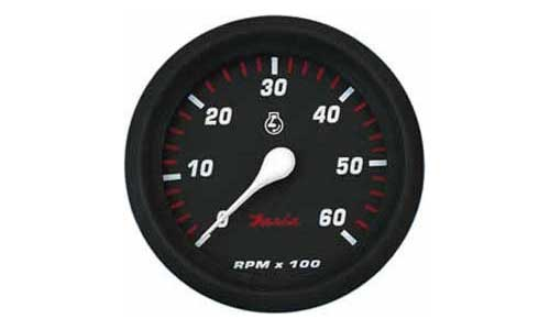 Tachometer 6K, Professional Red (TC9933) 4 Inch