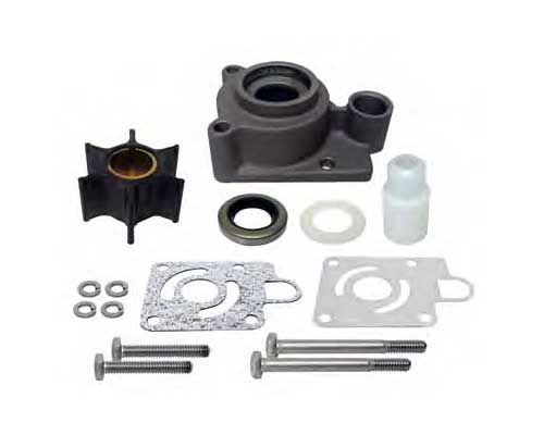 Mercury Marine Water Pump Impeller Repair Kits Outboard, 4hp, 4stroke . Water Pump Impeller Repair Kits Includes new impeller, drive key, face plate w/ gaskets, O rings