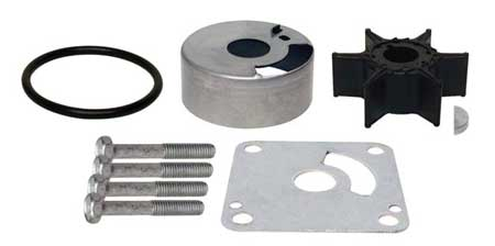 Water Pump Kit for Yamaha 20 HP (96-97) 25 HP (88-98, 00, 03-04) 6L2-W0078-00