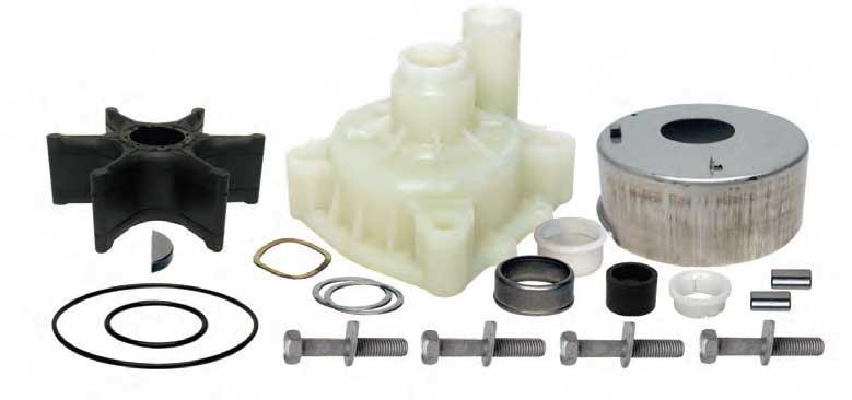 Water Pump Repair Kit for Yamaha 60HP Outboard 2 Stroke E60 1997-2000 Boat Motor