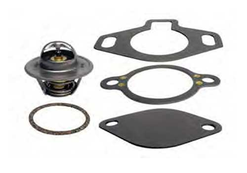 Thermostat Kit for Mercruiser Flat Cover Style 160 Degree 807252Q5