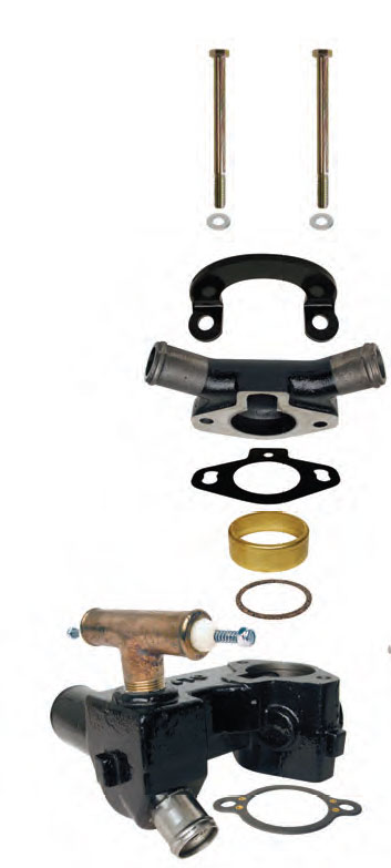 Thermostat Housings and Covers for Mercruiser Inboards