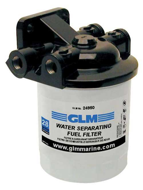 Fuel Filter Kit Marine Water Separating Spin On Filter 28 Micron [GLM24950]  - $36.95 : ebasicpower.com, Marine Engine Parts | Fishing Tackle | Basic  Power IndustriesBasic Power Industries