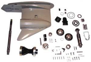 Gear Housing Assembly Kit, Complete, Johnson, Evinrude V6