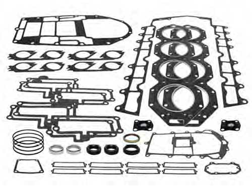 Gasket Set Powerhead for Johnson Evinrude Outboard V8 250-300 94-98 3.6L