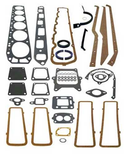 Overhaul Gasket Set, GM Inline 6 250 cid