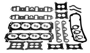 Gasket Head Set Marine for Ford 302 CID 5.0L V8 Mercruiser 27-56110A1