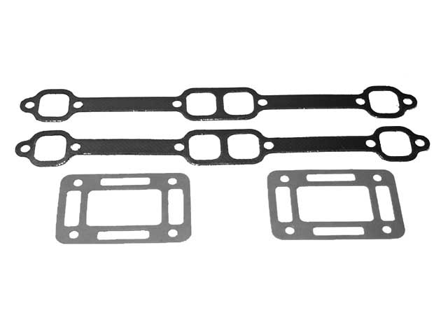 Exhaust Manifold - Riser Gasket Set for OMC Volvo Small Block GM V8