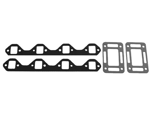 Exhaust Manifold - Riser Gasket Set for OMC Volvo Small Block Ford V8