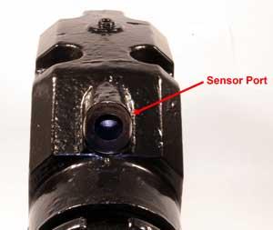 sensor port