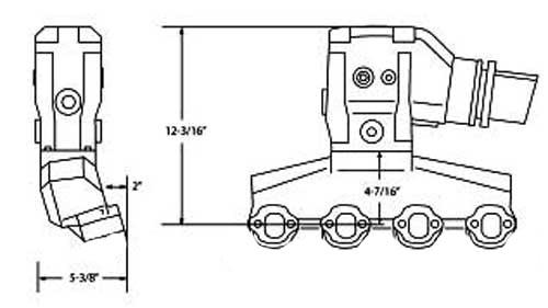 Manifold Exhaust Riser Kit 5.0 5.8 Volvo Penta Ford Small Block V8 on chevrolet wiring diagram, 96 evinrude wiring diagram, chris craft wiring diagram, regal wiring diagram, sears wiring diagram, 1972 50 hp evinrude wiring diagram, ace wiring diagram, nissan wiring diagram, apc wiring diagram, omg wiring diagram, evinrude key switch wiring diagram, clark wiring diagram, johnson wiring diagram, viking wiring diagram, omc schematic diagrams, john deere wiring diagram, atlas wiring diagram, polaris wiring diagram, sea ray wiring diagram,