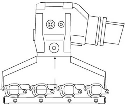 Manifold Exhaust Kit For Volvo Penta Omc 454 7 4l 502 8 2l Big Block
