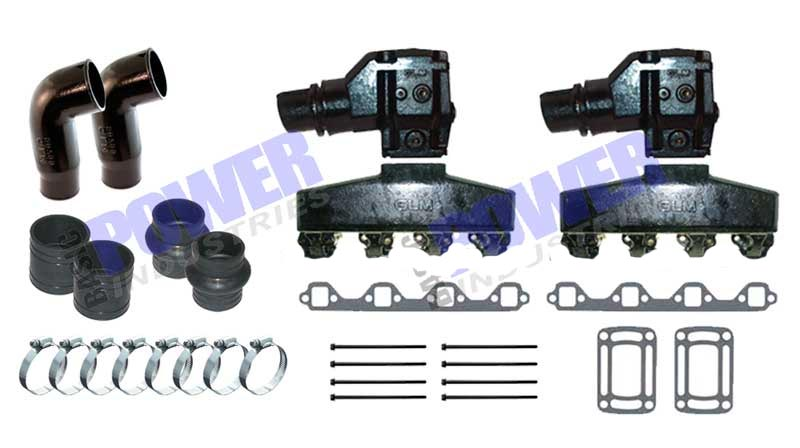 Exhaust Manifold Kits for OMC Inboards