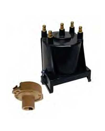 Distributor Cap & Rotor Kit Inline 4 Cylinder Delco EST 811635Q2