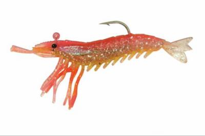 Artificial Shrimp Rigged 3 1 4 Pink Yellow 3 Pack Almost Alive Lures Gs325lh033 5 99 Ebasicpower Com Marine Engine Parts Fishing Tackle Basic Power Industries