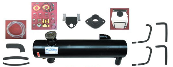Fresh Water Cooling Kit for 5.7 350 Front Mount Indmar Full System HEXBA37-0350