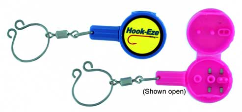 Hook eze hook and swivel tying safety device hez1 for Hook eze fishing tool