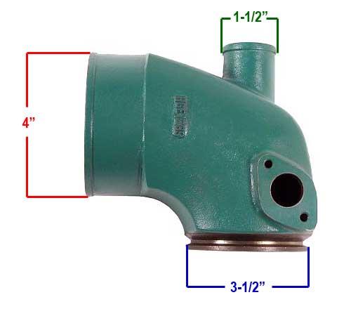HGE  1289  Riser  connection  sizes