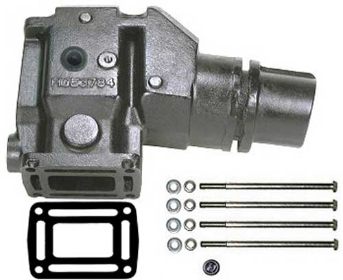 "Riser Exhaust 4"" Outlet for Volvo Penta and OMC V6 V8 913784"