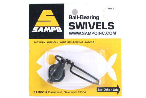 Sampo BX8CB BB Coastlock Snap Swivel Black 300Lb Bubble Cd/1Pk