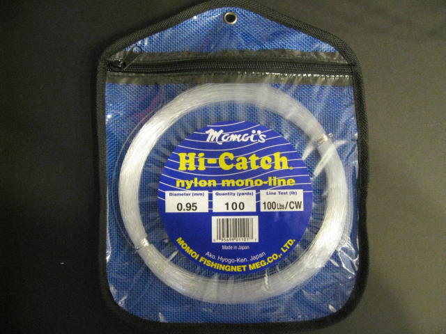 Momoi 100Lb 100Yds Clear White 01101 Hi-Catch Leader Coil