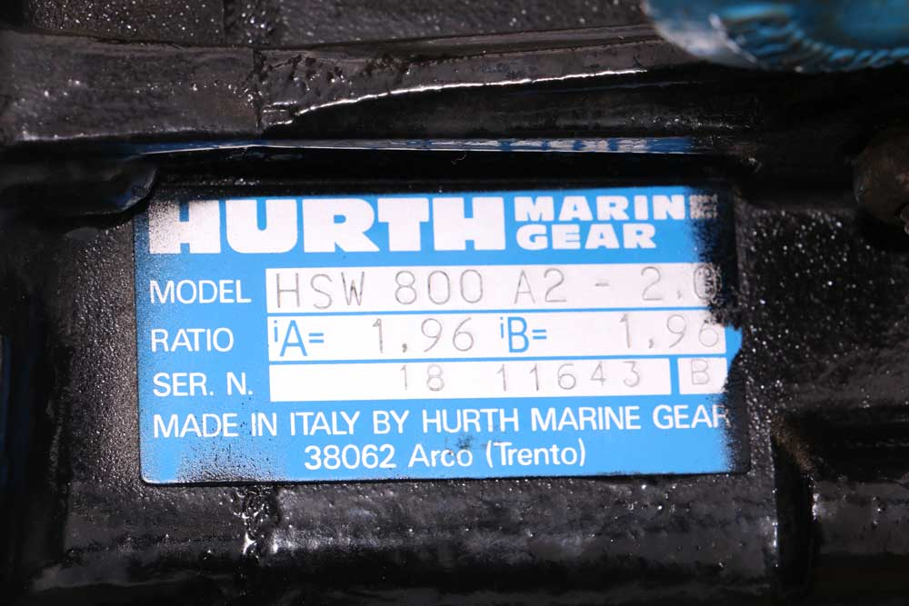 Marine Transmission, ZF Hurth ZF80A HSW 800 A2 1.96:1 Ratio