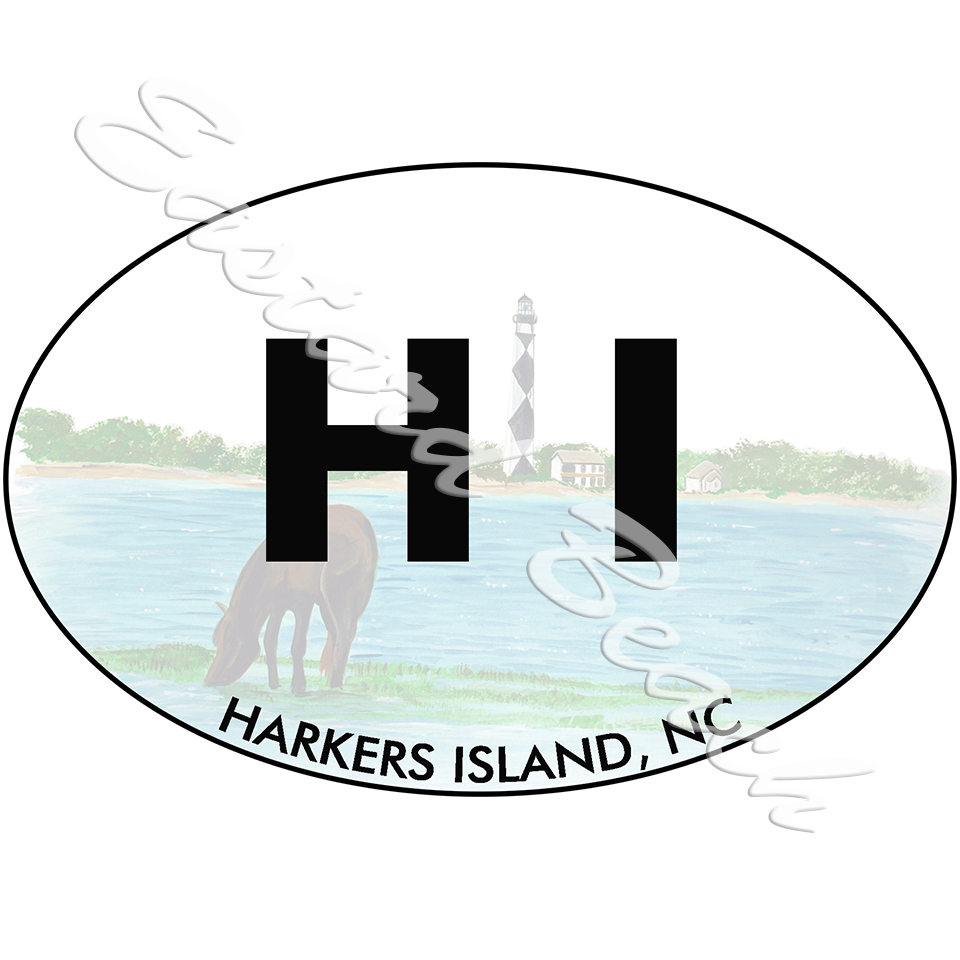 OBX -HI- Harkers Island w/ Lighthouse