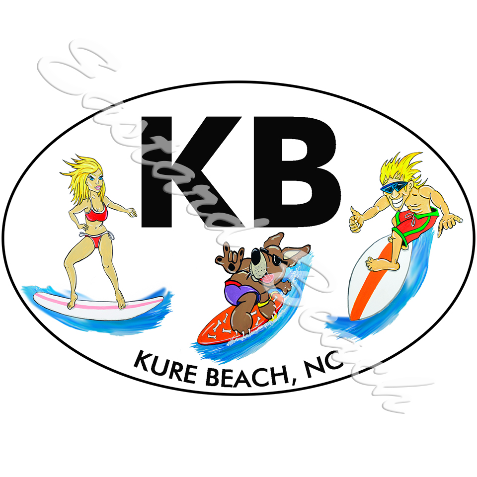 KB - Kure Beach Surf Buddies