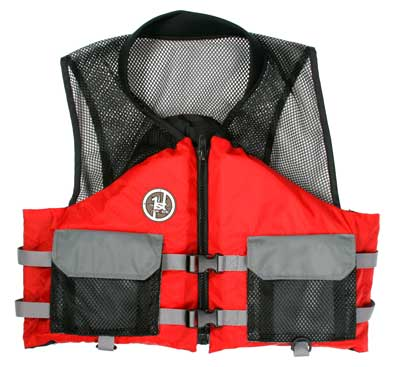 PFD, Type III AV-400 XL Red-Black