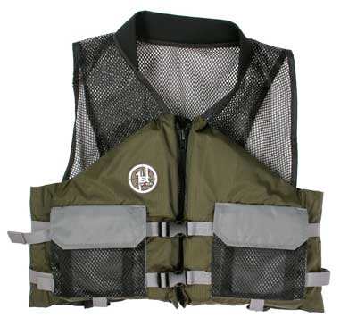 PFD, Type III AV-400 XXL Green - Grey