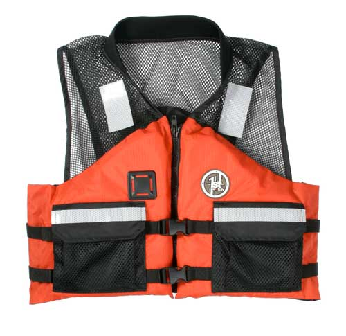 PFD, Type III AV-500 LG Orange - Black