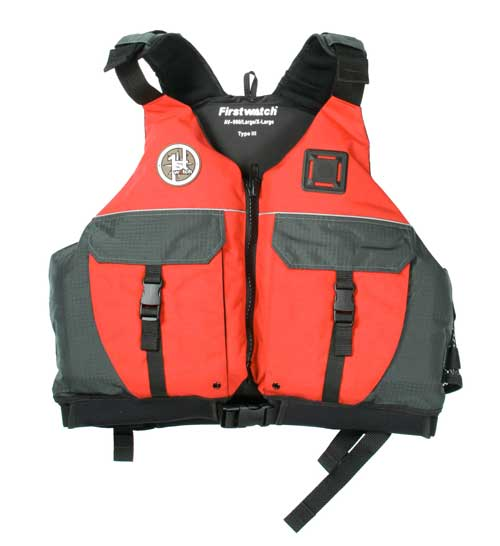 PFD, Sport Vest Red-Grey LG-XL