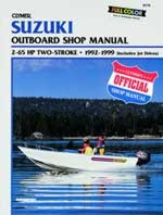 Service Manual, Suzuki 2 - 65 HP Outboards & Jet Drives, 1992-1999