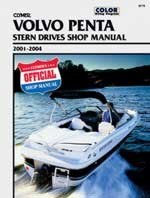Service Manual, Volvo Penta Stern Drives, 2001-2004