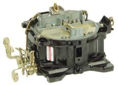 Carburetor, 4 BBL Rochester Spring Choke, V8, Remanufactured