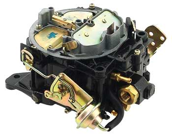Carburetor, 4 Barrel, Mercruiser Rochester V6 (9354A2), Remanufactured
