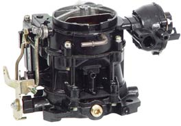 Carburetor, 2 Barrel, Mercruiser Rochester V8 (807312A1), Remanufactured