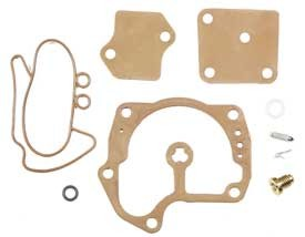 Carburetor Kit, Johnson, Evinrude V4, V6, Replaces OEM 439079